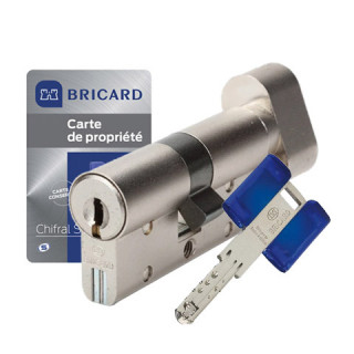 Cylindre à bouton Chifral S2 Twin Bricard